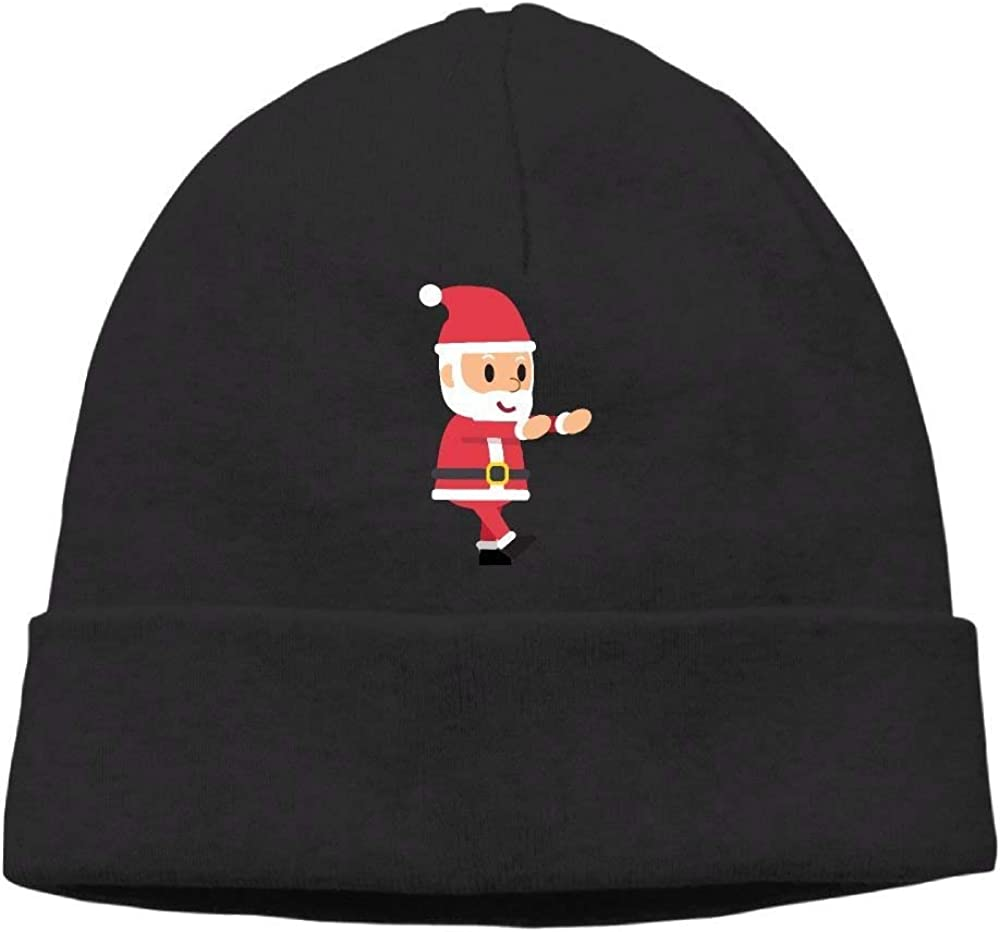 Go Ahead boy Unisex Santa Claus Classic Fashion Daily Beanie Hat Skull Cap
