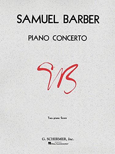 Concerto (2-piano score): Piano (Barber Piano Concerto)