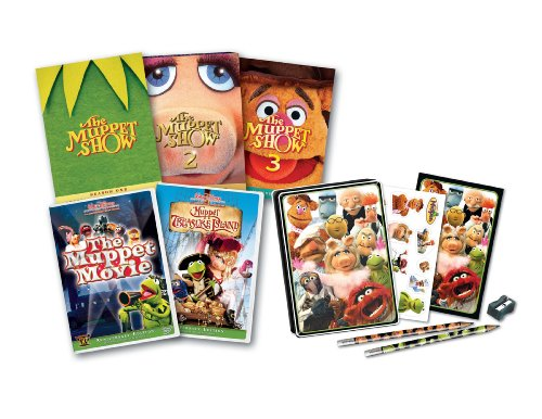 Muppet Five-Pack With Tin (Muppet Treasure Island