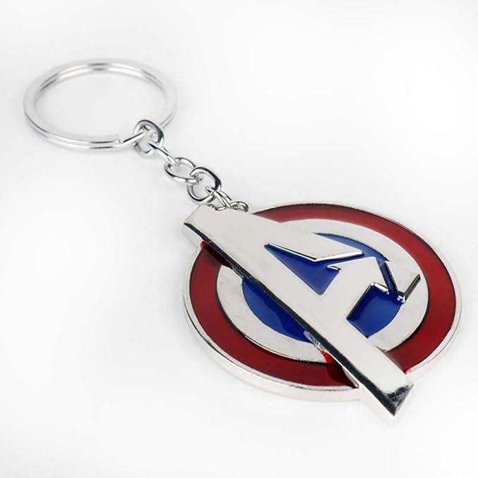 Amazon.com: Reddream Marvels The Avengers - Llavero con ...