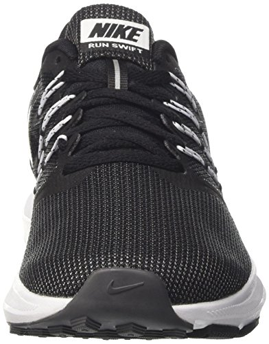 White Femme Running Run Black Grey Chaussures Nike Swift Noir dark WMNS de Zw6nz