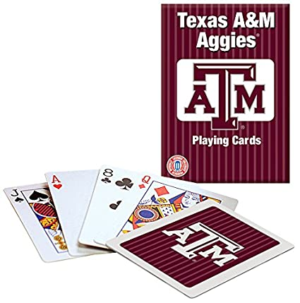 Amazon.com: Texas A & M Juego de cartas: Toys & Games