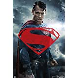 Batman vs Superman Poster Superman Red Logo (61cm x 91,5cm) + a surprise poster! by Close Up