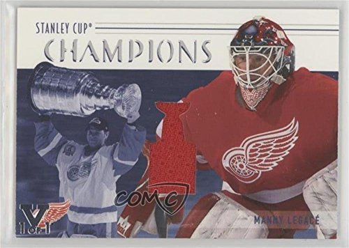 2002 Stanley Cup Game - Manny Legace (Hockey Card) 2002-03 In the Game Be A Player Memorabilia - Stanley Cup Champions #SCC-09
