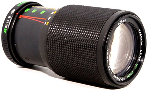 Yashica MC 75-200mm f/4.5 Macro Zoom Lens for FX-D -