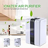 Air purifier - Ionizer Air Purifier Negative Ionizer Generator Durable Quiet Air Purifier Remove Formaldehyde Smoke Dust Air Purifier for Home
