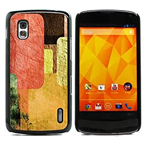 Graphic4You Retro Vintage Grunge Patterm Design Hard Case Cover for LG Nexus 4 by icecream design