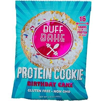 Buff Bake Gluten Free Protein Cookies
