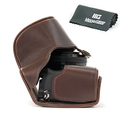 "MegaGear ""Ever Ready"" Protective Leather Camera Case, Bag fo"