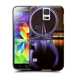 Unique Phone Case Famous scenery London Eye Hard Cover for samsung galaxy s5 cases-buythecase