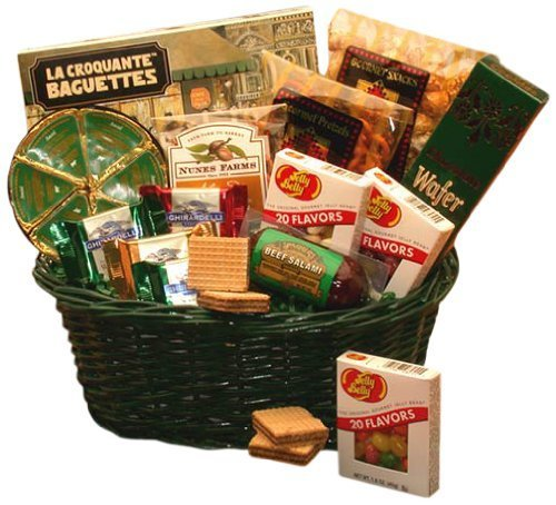 Organic Stores Gift Baskets The Gourmet Choice Meat, Cheese and Snacks Gift Basket by Organic Stores (Organic Stores Gift Baskets)