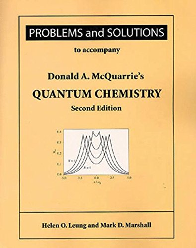 Problems and Solutions for Mcquarrie's Quantum Chemistry