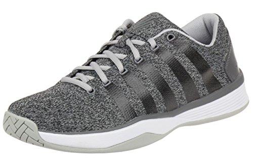 K-Swiss Hypercourt Lsheather - Zapatillas unisex, color gris