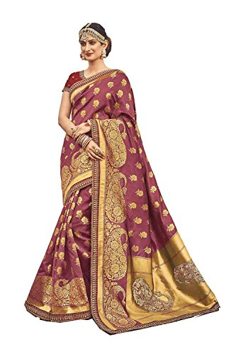 Da Facioun Indian Sarees For Women Wedding Designer Party Wear Traditional Magento Saree. by Da Facioun