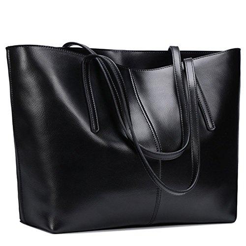 Fashion Des Sac De Noir Brown Bandouliere S Fête Mères En Pour Main zone Cuir Fourre tout A Veritable Sacs La matte a070w