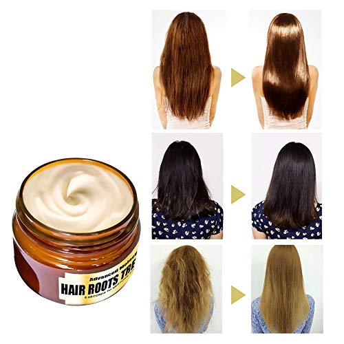Advanced Molecular Hair Roots Treatment Professtional Hair Conditioner, Hair Detoxifying Keratin Hair Mask Deep Conditioner Molecular Hair Roots Treatment, 5 Seconds to Restore Soft Hair 60 ML Orange