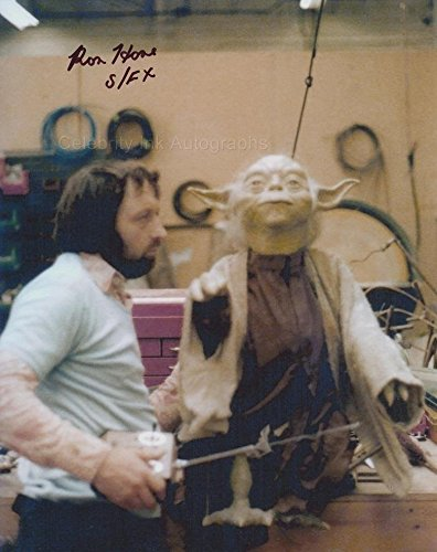 RON HONE – Special Effects Technician – Star Wars: The Empire Strikes Back GENUINE AUTOGRAPH