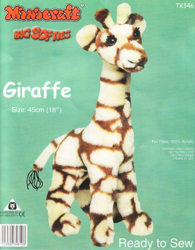 Dempsey Designs Minicraft 45cm Giraffe Kit - Kit Minicraft