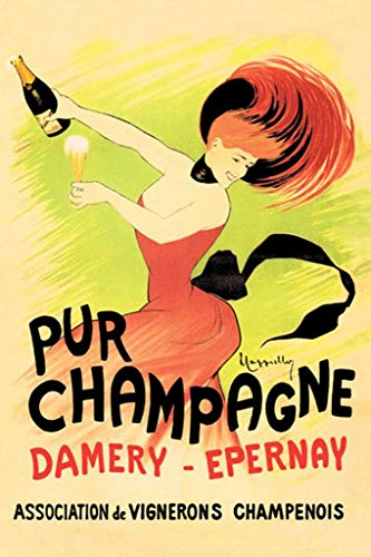Buyenlarge Pur Champagne by Leonetto Cappiello Wall Decal, 24