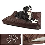 1Pcs Transcendental Popular Pet Bed Cover Size XL 48'' x 29'' Soft Zipper Cat Pillow Color Type Brown Oxford