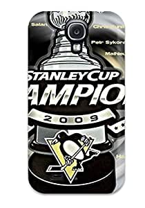 Snap-on Pittsburgh Penguins (81) Case Cover Skin Compatible With Galaxy S4