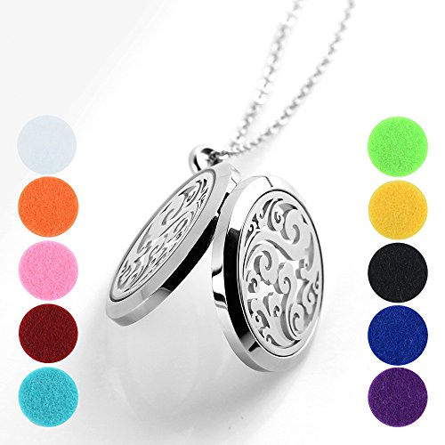 Wish Clouds Pendant Aromatherapy Essential Oil Diffuser Hypoallegenic Necklace