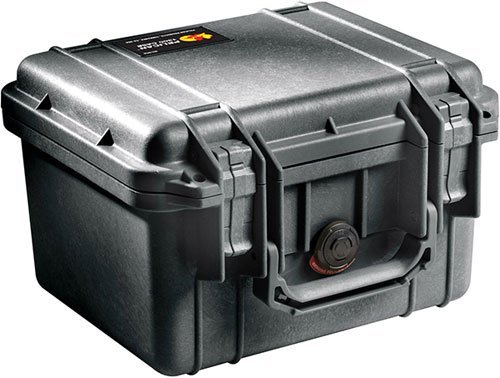 Pelican 1300 No Foam Black Case (1300NF)