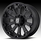 XD Wheels XD800 Misfit - Matte Black Wheel