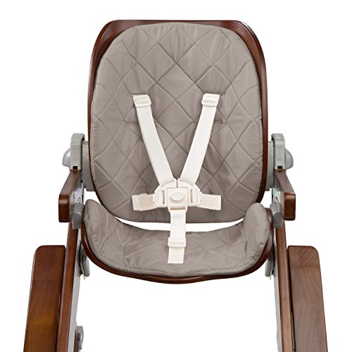 Baby High Chair Cushion (Summer Infant Bentwood Highchair Seat Cushion, Goose Down Gray)