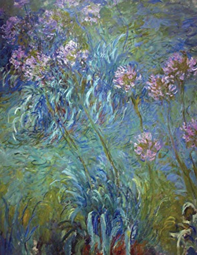 2019 Daily Planner: Claude Monet's Beautiful Agapanthus