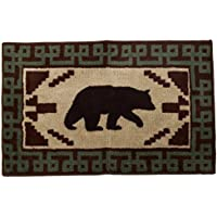 HiEnd Accents Bear Bath Kitchen Rug, 24 x 36