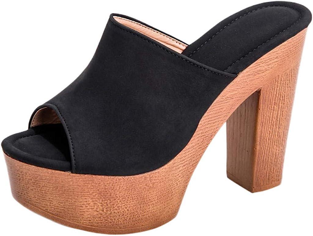 Women Wedges Sandals Shoes Summer PU Leather High Heels Sandals Platform Shoes