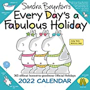 Sandra Boynton's Every Day's a Fabulous Holiday 2022 Wall