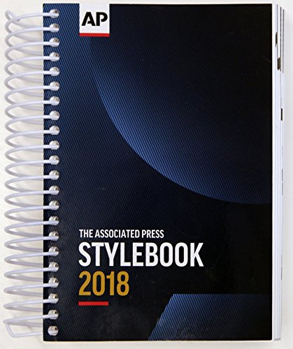 2018 Associated Press Stylebook - AP Stylebook