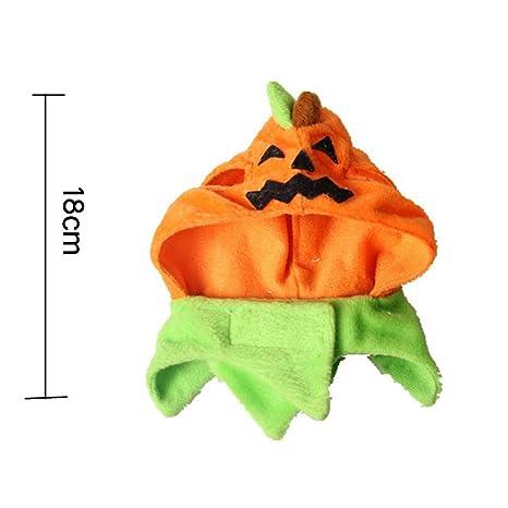 BIKITIQUE - Gorro de Halloween, diseño de Carnaval, para Perro, Gato, Accesorio