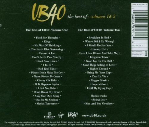 The Best Of UB40, Volumes 1 & 2