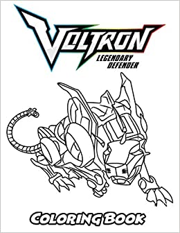 Amazon.com: Voltron Legendary Defender Coloring Book: Coloring Book ...