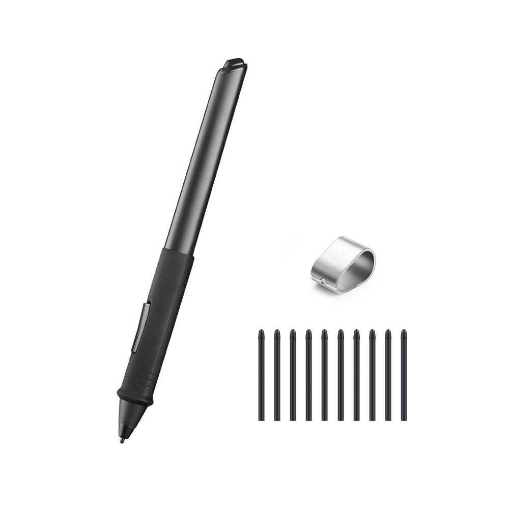 Parblo Coast22 Battery-free Batteryless Digital Drawing Pen with 10 Replacement Nibs and one Removal Tool Kit