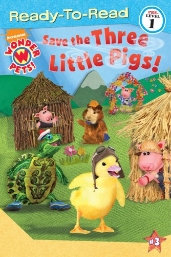 Save the Three Little Pigs! (Wonder Pets!), used for sale  Delivered anywhere in USA