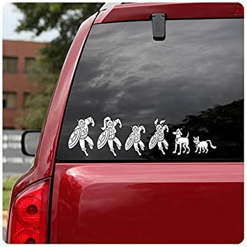 Marvel superhero family car decals 50 decals