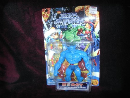 Marvel Universe  Beast (Mutant Flipping Action)  5 Bendable Action Figure by X Men