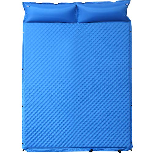 SELF INFLATING MATTRESS MAT SLEEPING BED CAMPING TRAVEL *no travel bag included*