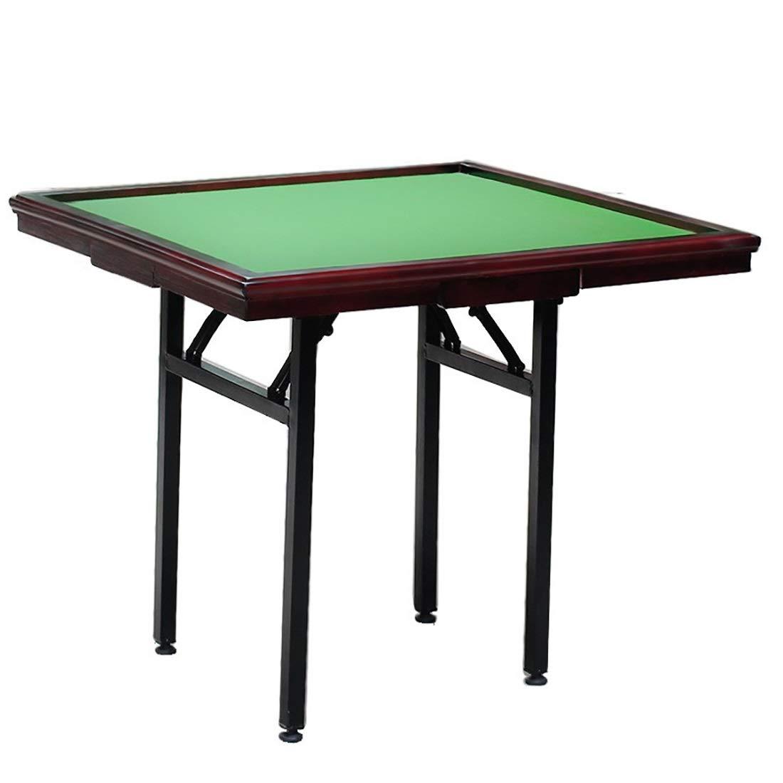 caliente Caoba NuoEn Mahjong Table, Poker, Juegos de de de Cochetas, Juegos de Mesa, Juegos de fichas, Dominó, Poker Table Wooden (Color   Oak Wood)  precios bajos