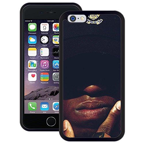 afrikanisch | Handgefertigt | iPhone 6 6s (4,7') | Schwarze Hülle