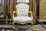 Mini ''Victoria'' Children's Throne Chair - Baby Throne - 27'' Height - Gold