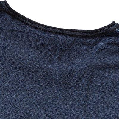 JOOP! Herren Pullover Schurwolle Sweater Meliert, Größe: S, Farbe: Blau