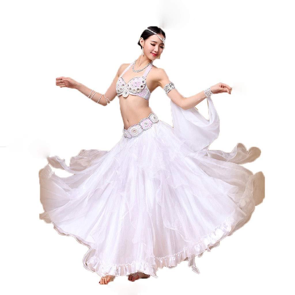 品質満点! 大人の女性のベリーダンスの衣裳の衣装のスーツの大きい振動スカートの性能の衣類 l|白 B07PDRPXZ7 L l|白 白 B07PDRPXZ7 L 白 l, ホリガネムラ:dce567e7 --- a0267596.xsph.ru