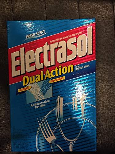 Electrasol Dishwasher Detergent - Electrasol Automatic Dishwasher Detergent, Powder, Fresh Scent, 50 OZ.