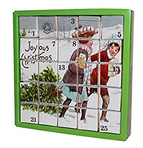 english tea shop joyous x 39 mas advent calendar nylon. Black Bedroom Furniture Sets. Home Design Ideas