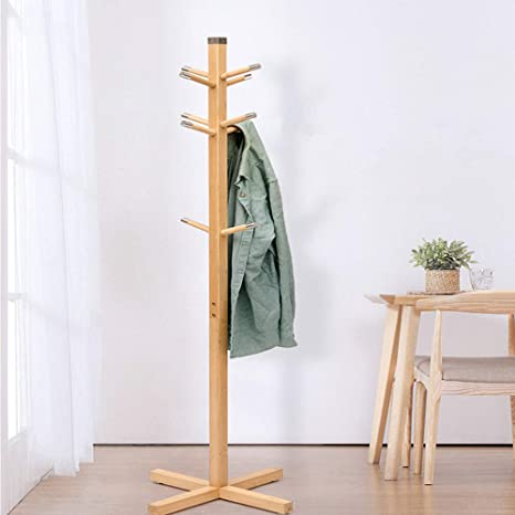 Amazon 【Newest Version】 Coat Hook Wooden Coat Rack Free Amazing Wooden Coat Hook Rack